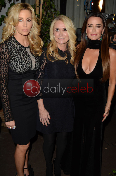 """Camille Grammer, Kim Richards, Kyle Richards<br /> at """"The Real Housewives of Beverly Hills"""" Season 7 Premiere Party, Sofitel Hotel, Beverly Hills, CA 12-02-16<br /> David Edwards/DailyCeleb.com 818-249-4998"""