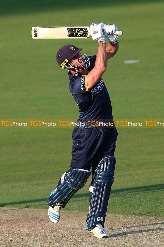 Ryan ten Doeschate hits six runs for Essex during Essex Eagles vs Premier Leagues XI, T20 Friendly Match Cricket at The Cloudfm County Ground on 4th July 2017