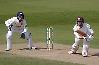 Ben Foakes of Surrey in batting action during Surrey CCC vs Essex CCC, Specsavers County Championship Division 1 Cricket at the Kia Oval on 14th April 2019