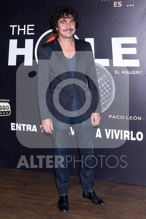 12.09,2012. Celebrities attend the presentation of the new season of  'The Hole' in Theater Caser Calderon of Madrid, with La Terremoto de Alcorcon and Alex O'Dogherty. In the image Jose Manuel Seda (Alterphotos/Marta Gonzalez)