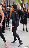 www.acepixs.com<br /> <br /> May 15 2017, New York City<br /> <br /> Khloe Kardashian (L) and Kim Kardashian West arriving at the 2017 NBCUniversal Upfront at Radio City Music Hall on May 15, 2017 in New York City.<br /> <br /> By Line: Curtis Means/ACE Pictures<br /> <br /> <br /> ACE Pictures Inc<br /> Tel: 6467670430<br /> Email: info@acepixs.com<br /> www.acepixs.com