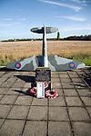 Second world war RAF memorial, Bradwell on Sea, Essex, England