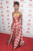 NEW YORK, NY - FEBRUARY 07: Ashleigh Murray attends The American Heart Association's Go Red For Women Red Dress Collection 2019 Presented By Macy's at Hammerstein Ballroom on February 7, 2019 in New York City.     <br /> CAP/MPI/GN<br /> ©GN/MPI/Capital Pictures