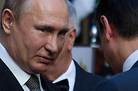 04.07.2019 - Vladimir Putin President of the Russian Federation Meets the Italian PM Giuseppe Conte