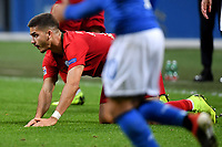 Andre Silva of Portugal on his knees during the Nations League League A group 3 football match between Italy and Portugal at stadio Giuseppe Meazza, Milano, November, 17, 2018 <br /> Foto Andrea Staccioli / Insidefoto