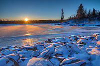 Sturgeon Rapids at Nutimik Lake<br /> WHiteshell Provincial Park<br /> Manitoba<br /> Canada