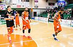 S&ouml;dert&auml;lje 2015-01-17 Basket Basketligan S&ouml;dert&auml;lje Kings - Bor&aring;s Basket :  <br /> Bor&aring;s Christopher Chris McKnight och Adama Darboe deppar efter matchen mellan S&ouml;dert&auml;lje Kings och Bor&aring;s Basket <br /> (Foto: Kenta J&ouml;nsson) Nyckelord:  Basket Basketligan S&ouml;dert&auml;lje Kings SBBK T&auml;ljehallen Bor&aring;s depp besviken besvikelse sorg ledsen deppig nedst&auml;md uppgiven sad disappointment disappointed dejected