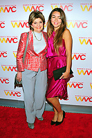 NEW YORK, NY - OCTOBER 26: Gloria Allred and Mimi Haleyi at the Women's Media Center 2017 Women's Media Awards at Capitale on October 26, 2017 in New York City. Credit: John Palmer/MediaPunch /NortePhoto.com