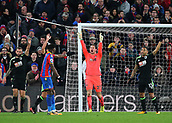 9th December 2017, Selhurst Park, London, England; EPL Premier League football, Crystal Palace versus Bournemouth; Bournemouth Goalkeeper Asmir Begovic appeals to Referee Kevin Friend for a goal kick