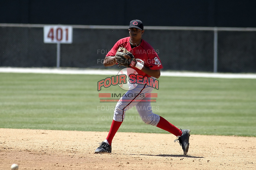 March 31, 2004:  Kevin Howard of the Cincinnati Reds organization during Spring Training at Ed Smith Stadium in Sarasota, FL.  Photo copyright Mike Janes/Four Seam Images