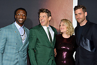 """LOS ANGELES, CA: 24, 2020: Aldis Hodge, Jason Blum, Elisabeth Moss & Oliver Jackson-Cohen at the premiere of """"The Invisible Man"""" at the TCL Chinese Theatre.<br /> Picture: Paul Smith/Featureflash"""