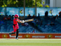 2nd November 2019; Western Australia Cricket Association Ground, Perth, Western Australia, Australia; Womens Big Bash League Cricket, Melbourne Renegades versus Sydney Sixers; Ellis Perry of the Sydney Sixers plays through midwicket - Editorial Use