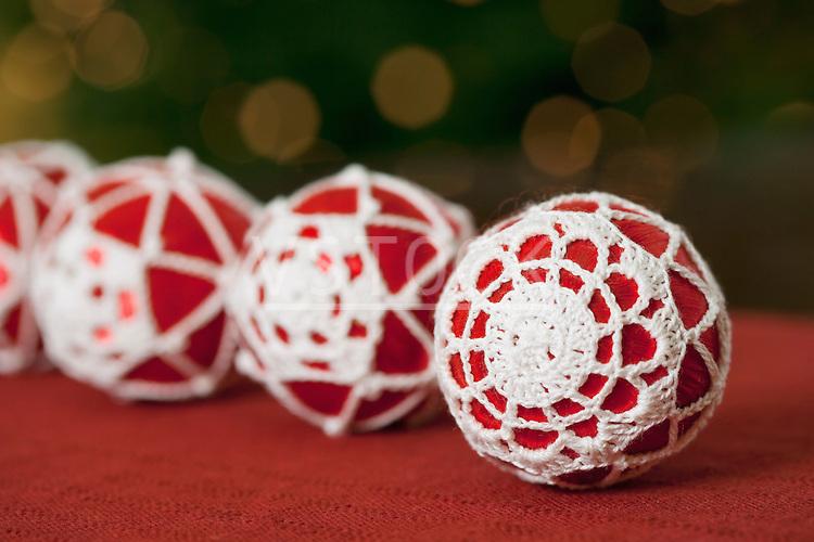 USA, California, La Quinta, Christmas decorations