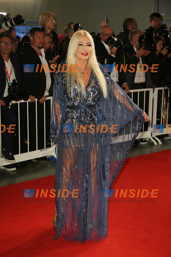 "VENICE, ITALY - SEPTEMBER 06: Monika Bacardi walks the red carpet ahead of the ""Waiting For The Barbarians"" screening during the 76th Venice Film Festival at Sala Grande on September 06, 2019 in Venice, Italy. (Photo by Mark Cape/Insidefoto)<br /> Venezia 06/09/2019"