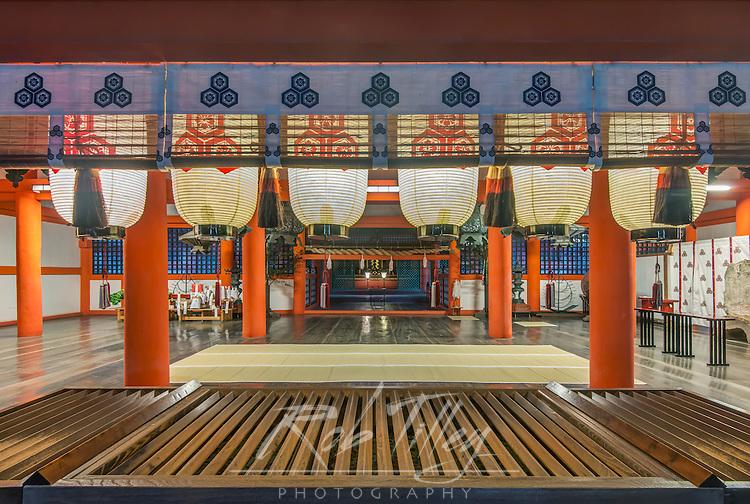 Japan, Miyajima, Itsukushima Shrine, Itsukushima Shrine