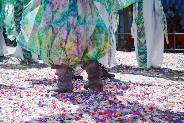 Joy - The Finale by Brian Macfarlane - Flora section  feet in confetti