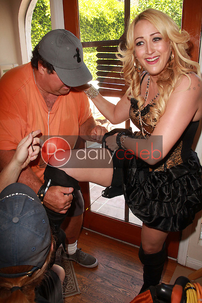 Jennifer Blanc-Biehn<br /> on the set of &quot;Among Friends&quot; directed by Danielle Harris, Private Location, Los Angeles, CA. 07-30-11<br /> David Edwards/DailyCeleb.com 818-249-4998