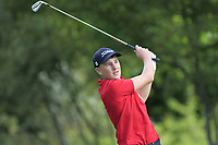 Jack Fitzpatrick (Galway Bay) on the 1st tee during the Connacht U12, U14, U16, U18 Close Finals 2019 in Mountbellew Golf Club, Mountbellew, Co. Galway on Monday 12th August 2019.<br /> <br /> Picture:  Thos Caffrey / www.golffile.ie<br /> <br /> All photos usage must carry mandatory copyright credit (© Golffile | Thos Caffrey)