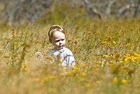 Girl in field. Photo/Andrew Shurtleff