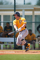 Pittsburgh Pirates Jerrick Suiter (93) during an instructional league intrasquad black and gold game on September 18, 2015 at Pirate City in Bradenton, Florida.  (Mike Janes/Four Seam Images)