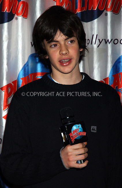 WWW.ACEPIXS.COM . . . . . ....NEW YORK, DECEMBER 9, 2005......Skandar Keynes at the cast appearance of Disney Pictures new film 'The Chonicles of Narnia' held at Planet Hollywood.......Please byline: KRISTIN CALLAHAN - ACEPIXS.COM.. . . . . . ..Ace Pictures, Inc:  ..Philip Vaughan (212) 243-8787 or (646) 679 0430..e-mail: info@acepixs.com..web: http://www.acepixs.com