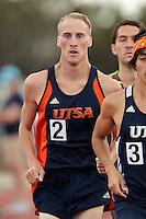 SAN ANTONIO, TX - MAY 2, 2014: The UTSA Roadrunner Invitational Track & Field Meet at the Park West Athletics Complex. (Photo by Jeff Huehn)