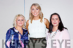 Maria O'Riordan, Amy O'Donovan and Michelle Mahony  at the Killarney Strictly Come Dancing in aid of the Irish Cancer Society in the INEC on Friday night