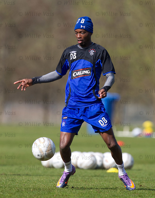 DaMarcus Beasley at training