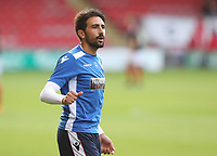 Bolton Wanderers' Jem Karacan during the pre-match warm-up <br /> <br /> Photographer Rachel Holborn/CameraSport<br /> <br /> The Carabao Cup - Crewe Alexandra v Bolton Wanderers - Wednesday 9th August 2017 - Alexandra Stadium - Crewe<br />  <br /> World Copyright &copy; 2017 CameraSport. All rights reserved. 43 Linden Ave. Countesthorpe. Leicester. England. LE8 5PG - Tel: +44 (0) 116 277 4147 - admin@camerasport.com - www.camerasport.com