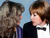 New York City<br /> 1978 <br /> Farrah Fawcett and Shirley MacLaine at Studio 54<br /> CAP/MPI/PHI<br /> &copy;MPI67/Capital Pictures