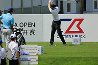 Ashley Chesters (ENG) in action during the third round of the Volvo China Open played at Topwin Golf and Country Club, Huairou, Beijing, China 26-29 April 2018.<br /> 28/04/2018.<br /> Picture: Golffile | Phil Inglis<br /> <br /> <br /> All photo usage must carry mandatory copyright credit (&copy; Golffile | Phil Inglis)