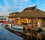 Seattle, Washington<br /> Center for Wooden Boats on Lake Union