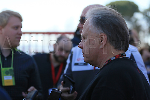 02.03.2016. Barcelona, Spain. Formula 1 winter car testing at Circuit de Barcelona Catalunya Test 2 Day 2.  Haas F1 Team - Gene Haas