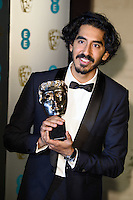 Dev Patel<br /> at the 2017 BAFTA Film Awards After-Party held at the Grosvenor House Hotel, London.<br /> <br /> <br /> &copy;Ash Knotek  D3226  12/02/2017