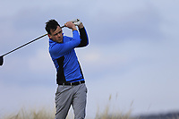Paul Coughlan (Castleknock) during the first round of matchplay at the 2018 West of Ireland, in Co Sligo Golf Club, Rosses Point, Sligo, Co Sligo, Ireland. 01/04/2018.<br /> Picture: Golffile | Fran Caffrey<br /> <br /> <br /> All photo usage must carry mandatory copyright credit (&copy; Golffile | Fran Caffrey)