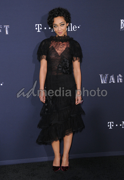 """06 June 2016 - Hollywood, California - Ruth Negga. Arrivals for the Premiere Of Legendary Pictures and Universal Pictures' """"Warcraft"""" held at the TCL Chinese Theater IMAX. Photo Credit: Birdie Thompson/AdMedia"""