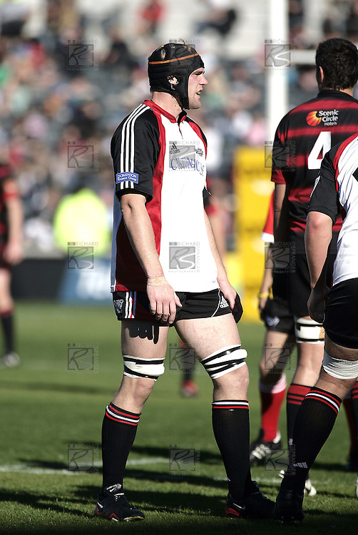 Andrew Van der Heijden during the Ranfurly Shield challenge against Canterbury at Jade Stadium on the 10th of September 2006. Canterbury won 32 - 16.