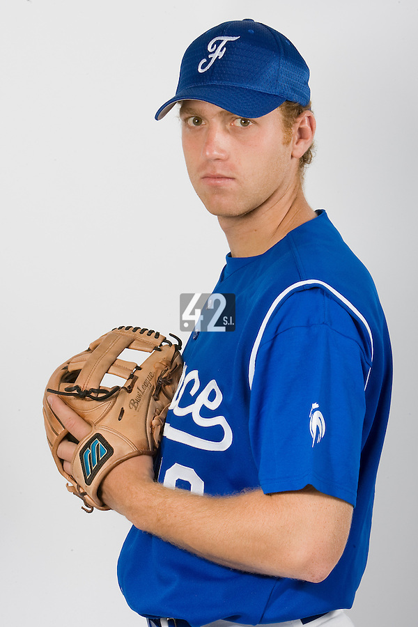 15 Aug 2007: Nicolas Dubaut - Team France Baseball