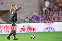 Orlando, FL - Saturday August 05, 2017: Aubrey Bledsoe during a regular season National Women's Soccer League (NWSL) match between the Orlando Pride and the Chicago Red Stars at Orlando City Stadium.