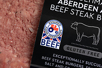 Red Tractor Beef Label<br /> ©Tim Scrivener Photographer 07850 303986<br />      ....Covering Agriculture In The UK....