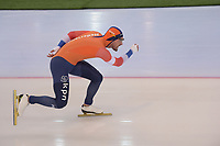 SPEEDSKATING: HAMAR: Vikingskipet, 28-02-2020, ISU World Speed Skating Championships, Sprint, 1000m Men, Kjeld Nuis (NED), ©photo Martin de Jong