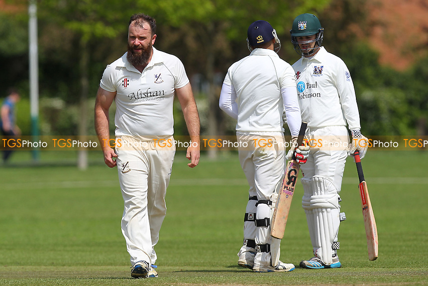 Upminster CC vs Southend-on-Sea & EMT CC (batting) - Essex Cricket League - 09/05/15 - MANDATORY CREDIT: Gavin Ellis/TGSPHOTO - Self billing applies where appropriate - 0845 094 6026 - contact@tgsphoto.co.uk - NO UNPAID USE