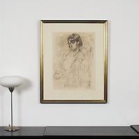 "Yaskulka: ""Taylor"", Digital Print, Image Dims. 25"" x 18.25"", Framed Dims. 35"" x 28.5"""