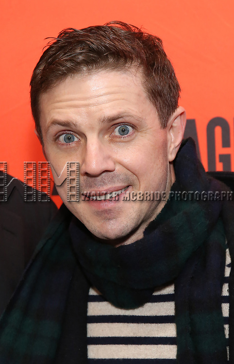 """Jake Shears attending the Broadway Opening Night Performance of  """"Lobby Hero"""" at The Hayes Theatre on March 26, 2018 in New York City."""