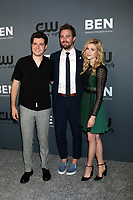 LOS ANGELES - AUG 4:  Ben Lewis, Stephen Amell, Katherine McNamara at the  CW Summer TCA All-Star Party at the Beverly Hilton Hotel on August 4, 2019 in Beverly Hills, CA