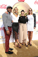 06 January 2018 - Los Angeles, California - John Orozco, Nastia Liukin, Laurie Hernandez, Nadia Comaneci. 2018 Gold Meets Golden held at The Sunset House.   <br /> CAP/ADM/PMA<br /> &copy;PMA/ADM/Capital Pictures
