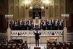 20.12.2015, Berlin Synagoge Rykestraße. Grand Final Concert of all choirs at the Louis Lewandowsky Festival for synagogal music. Jerusalem Cantors' Choir