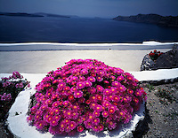"View from Imerovigill Village Island of Santorini, Greee Cyclades Aegean Sea ""Thera"" Possible source of Atlantis legend"