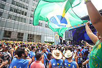 SÃO PAULO, SP, 01.09.2019 - BRAZILIAN-DAY - Público ocupa a Sexta Avenida durante o Brazilian Day New York 2019 na cidade de Nova York nos Estados Unidos neste domingo, 01. (Foto: Vanessa Carvalho/Brazil Photo Press)