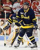 Fraser Allen (Merrimack - 2) - The visiting Merrimack College Warriors tied the Boston University Terriers 1-1 on Friday, November 12, 2010, at Agganis Arena in Boston, Massachusetts.